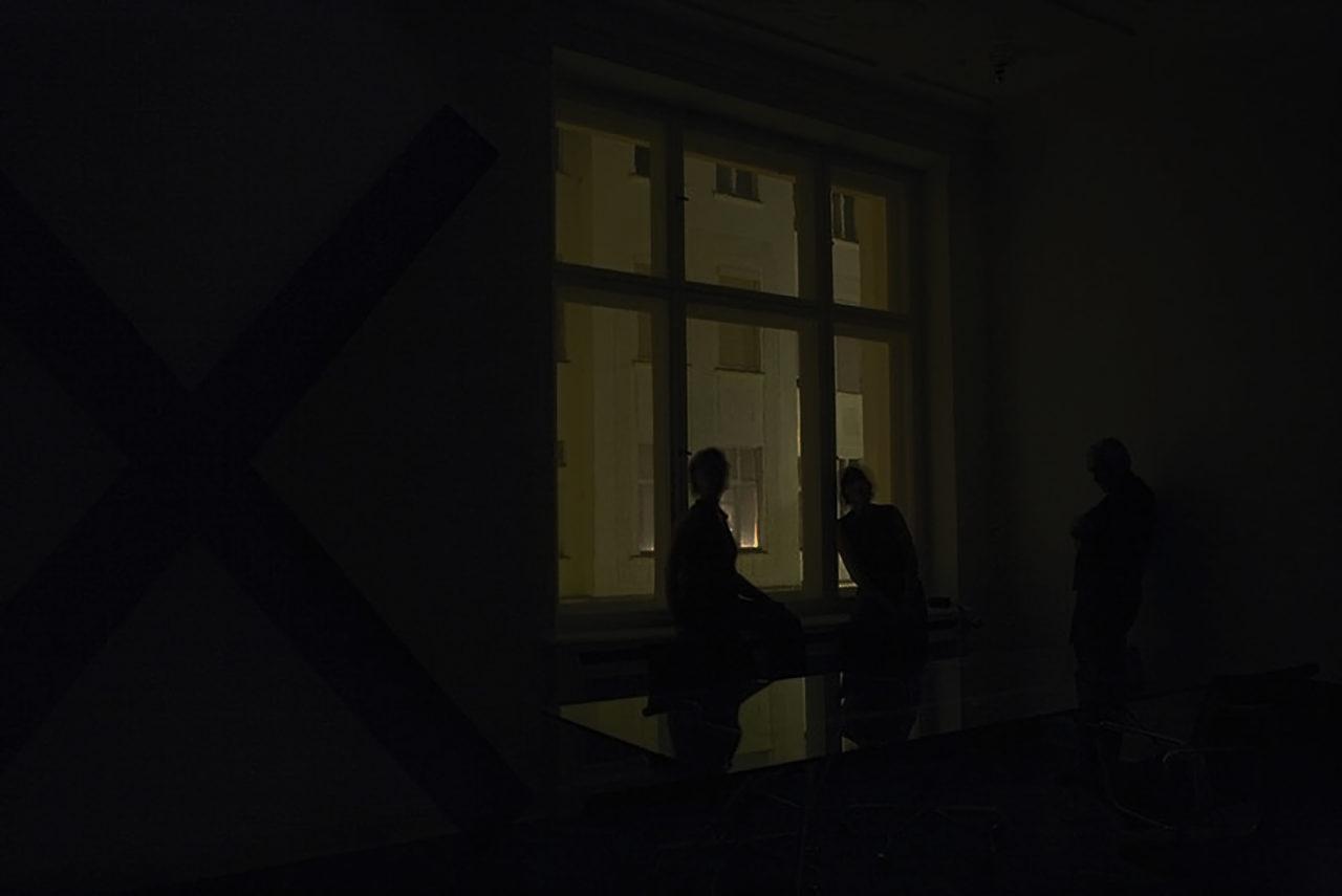 Martin Creed: The Lights Off Installationsansicht