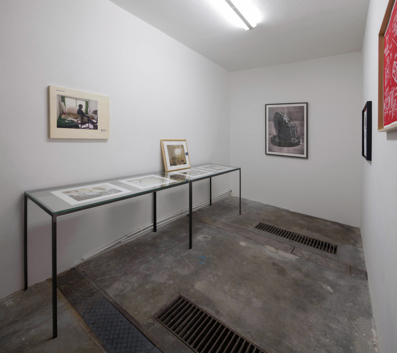 Hans Weigand: Flat Mountain Press, Installation view