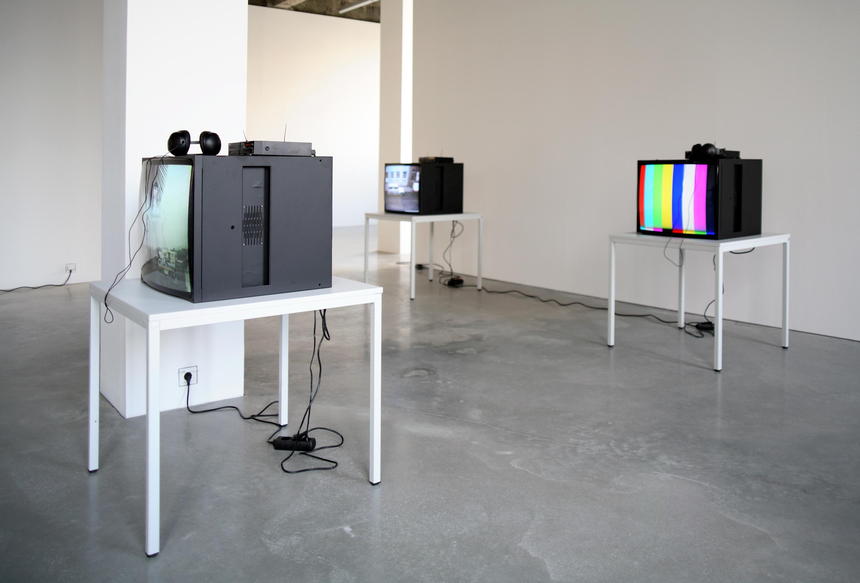 Heimo Zobernig: Video, Installationsansicht