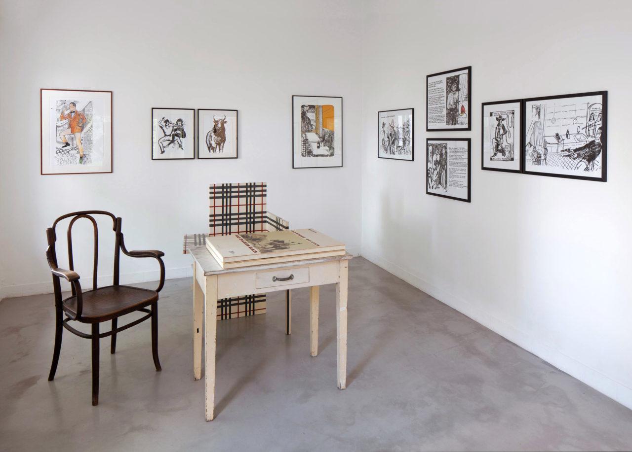 Paperwork: L'oeil du prince, Installationsansicht
