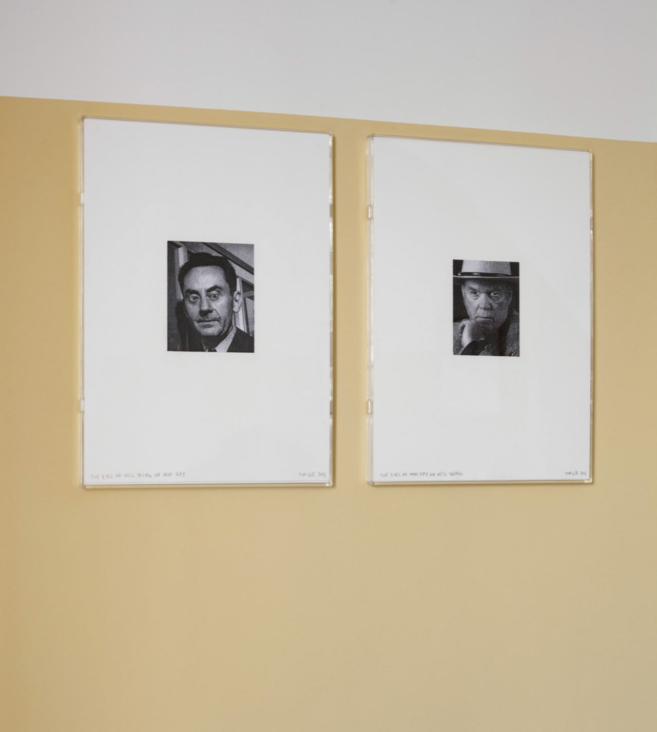 Tim Lee, The eyes of Neil Young on Man Ray / The eyes of Man Ray on Neil Young (2011)