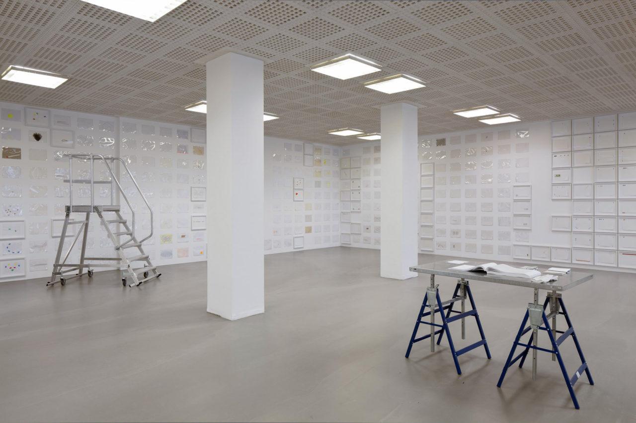 Karin Sander, Büroarbeiten (1990–2016), Installationsansicht