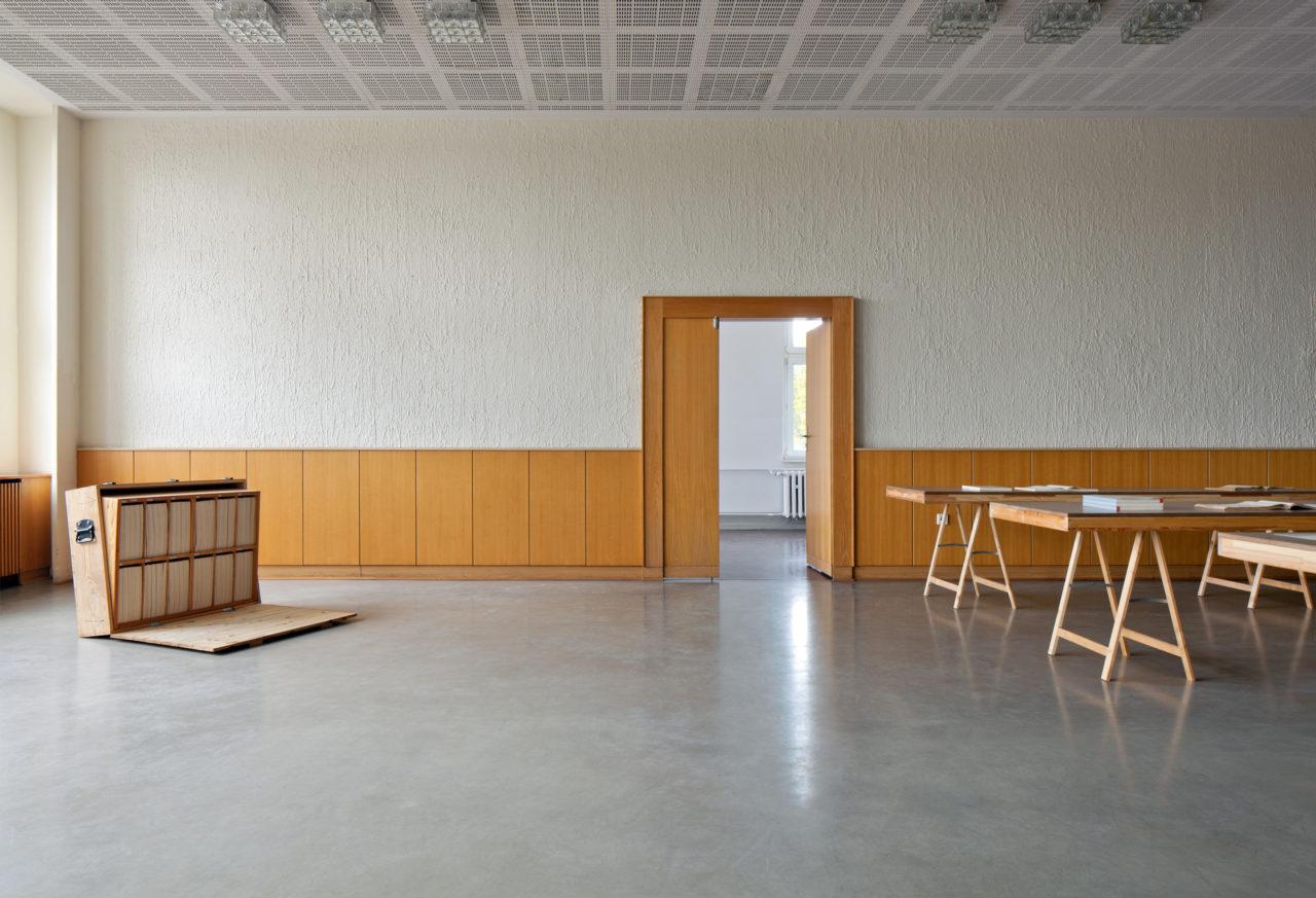 Paperwork: Barbara Schmidt Heins & Gabriele Schmidt Heins (Installationsansicht)