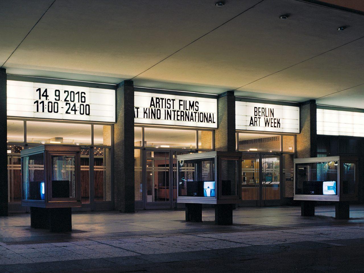 Artist Films at Kino International