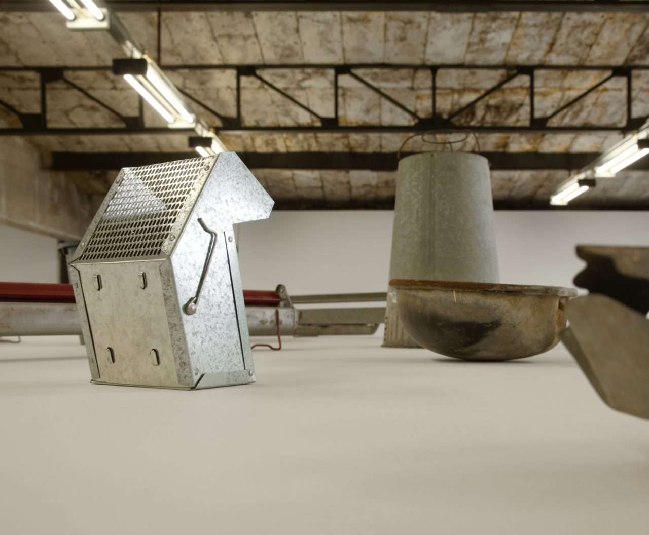 Rodney McMillian, untitled (feeders) (2007)