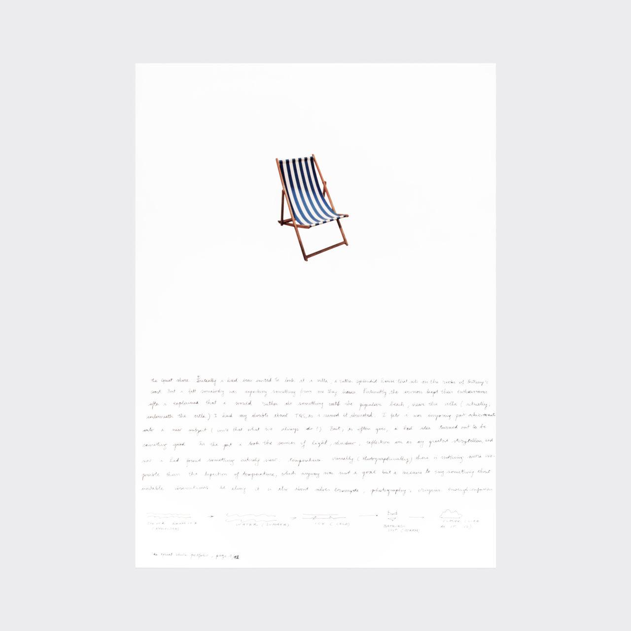 David Claerbout, untitled (The quiet shore portfolio) (2015)