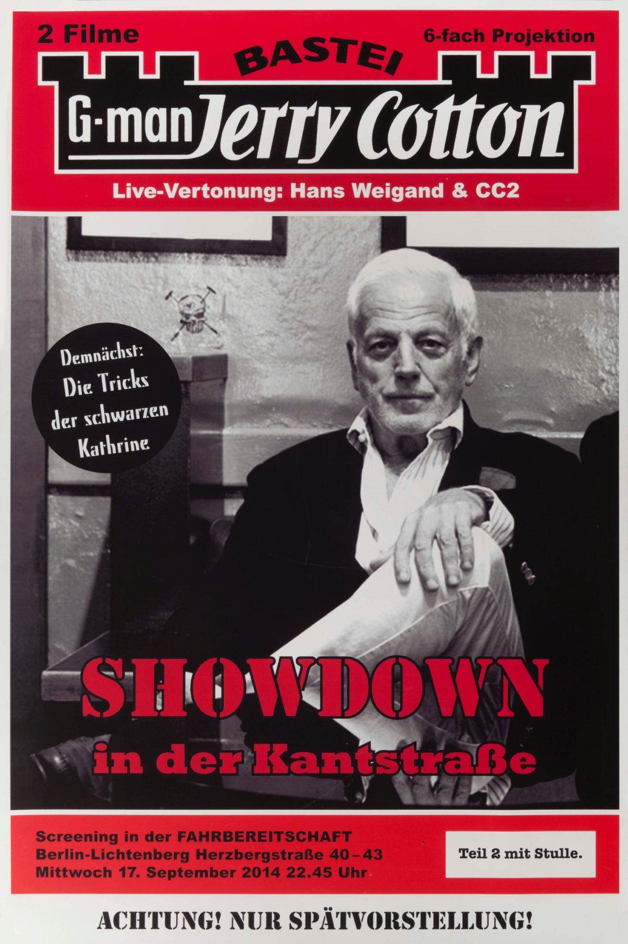 G-Man Jerry Cotton (Plakat)