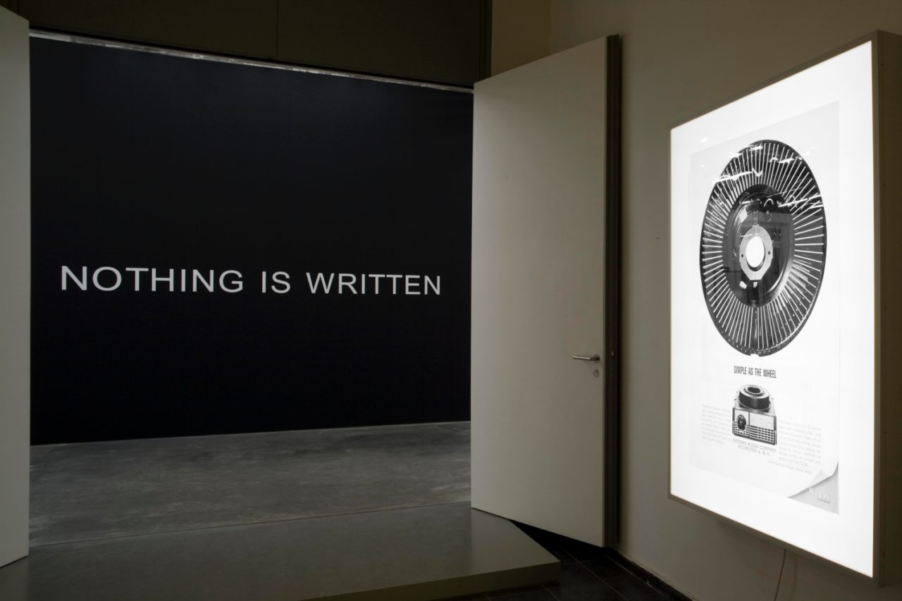 Jan Timme, Nothing is written (white) (2002/2009)