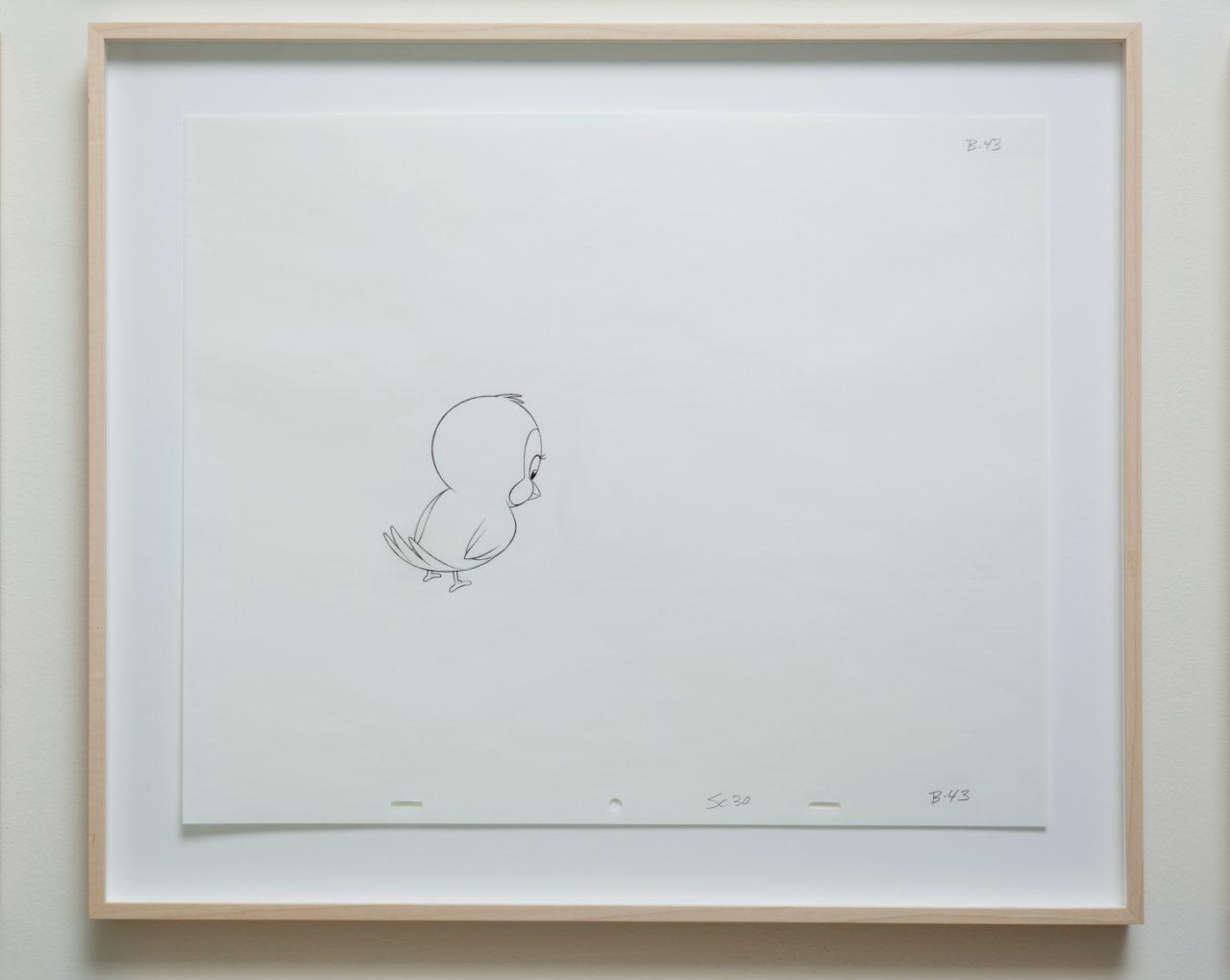 Mathias Poledna, untitled (animation drawing) (2013)