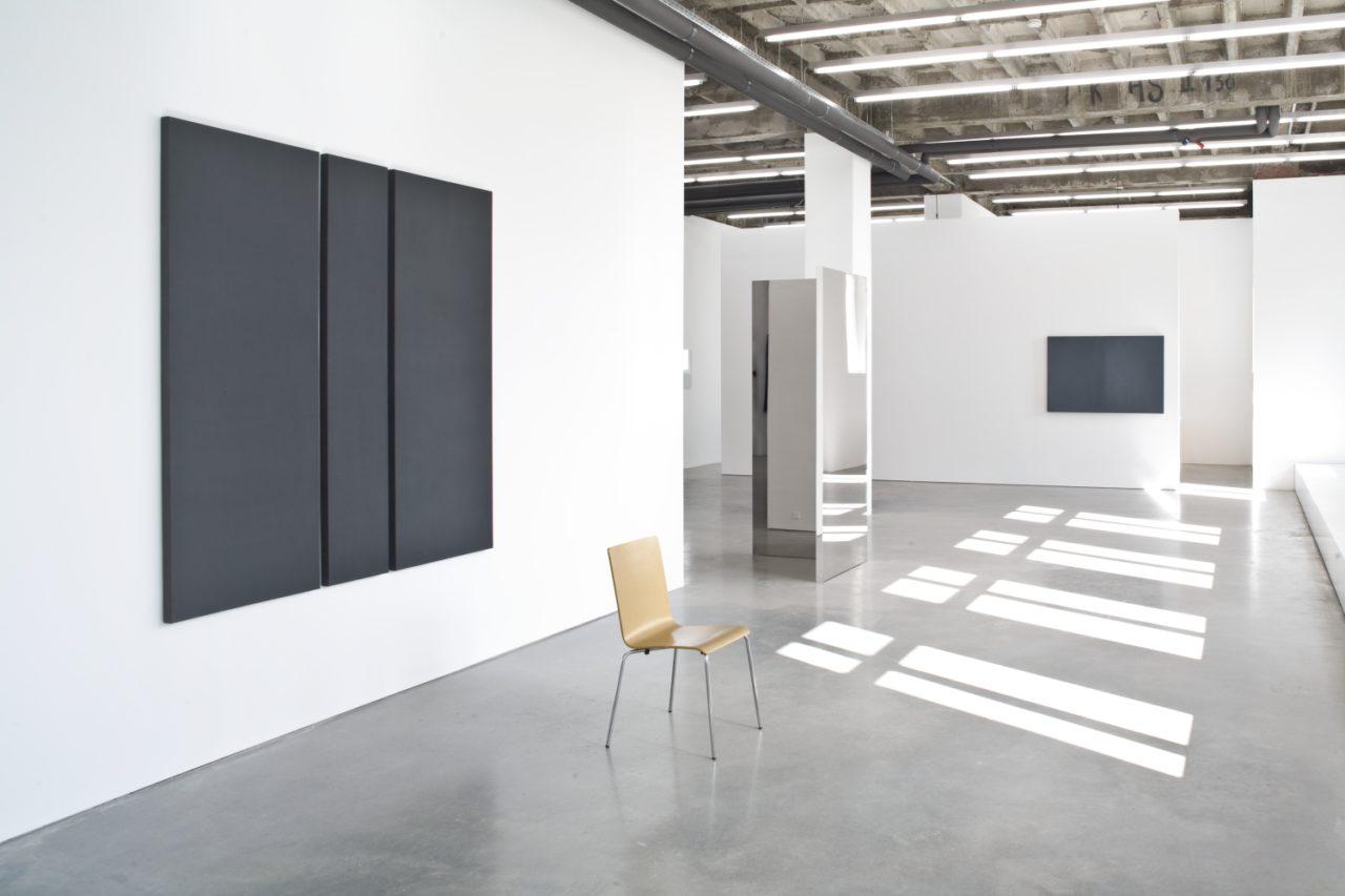 Monochrome reflections, Installationsansicht