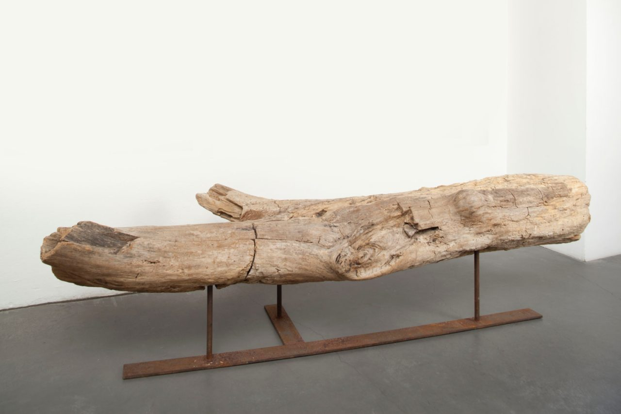 Carol Bove, untitled (Former centerpiece of installation: The ride of universal intercourse) (2004)