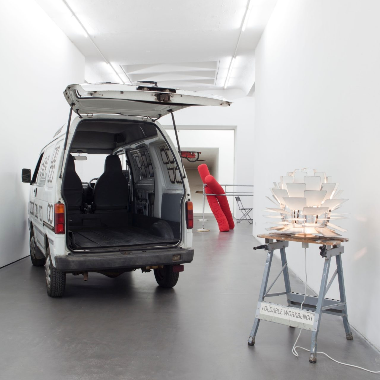 No desaster, Sammlung Haubrok bei Falckenberg, Installationsansicht