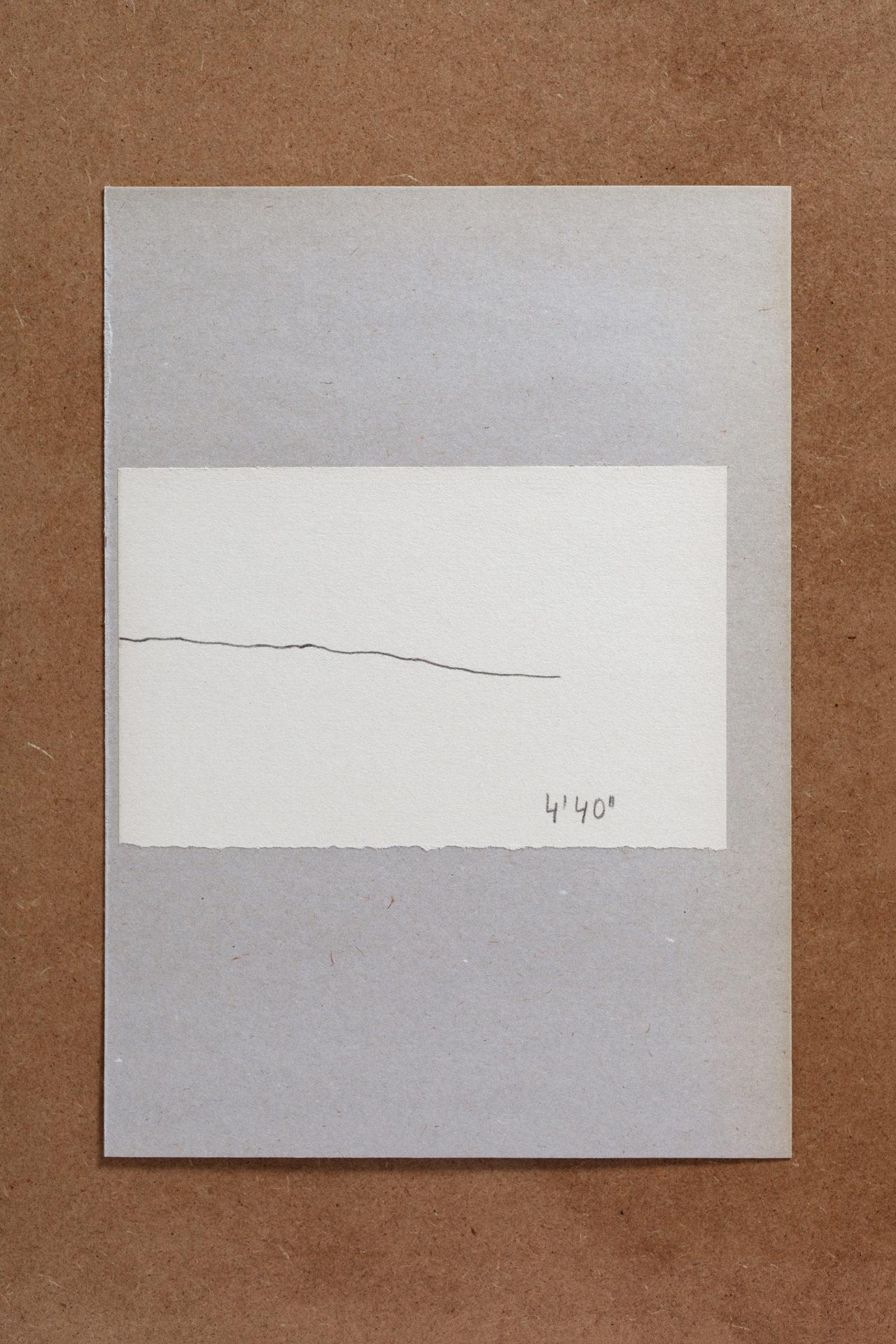 Gabriele Schmidt Heins, 1 Stunde, subjektiv / objektiv (Auszug) (1976)