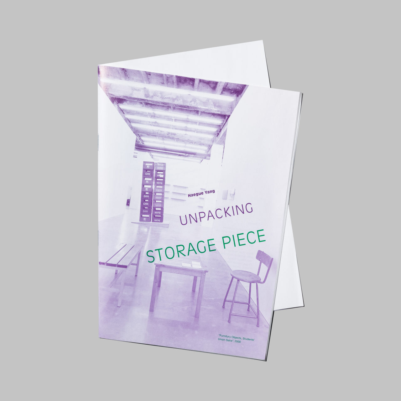 Haegue Yang: Unpacking Storage piece, Wiens Verlag (2007)