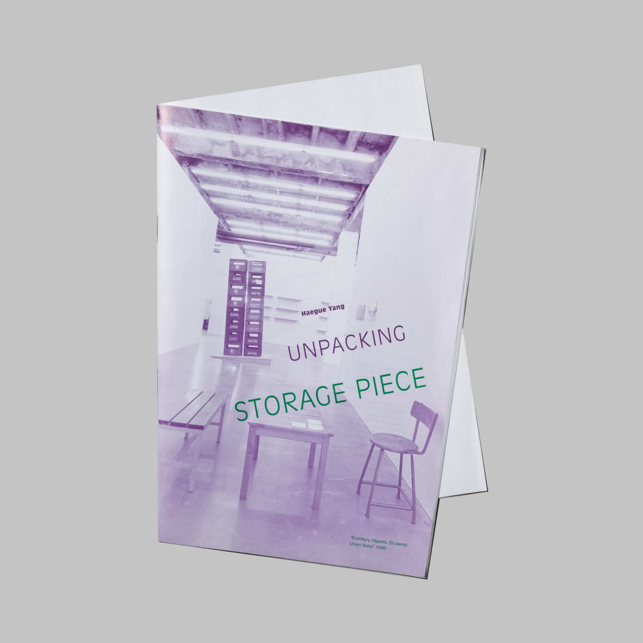 Haegue Yang: Unpacking Storage piece, Wiens Verlag, 2007