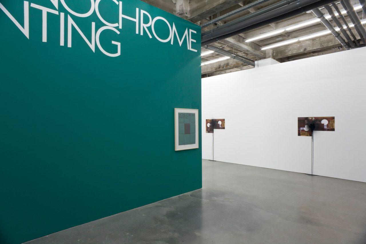 Stephen Prina: Monochrome Painting, Installationsansicht