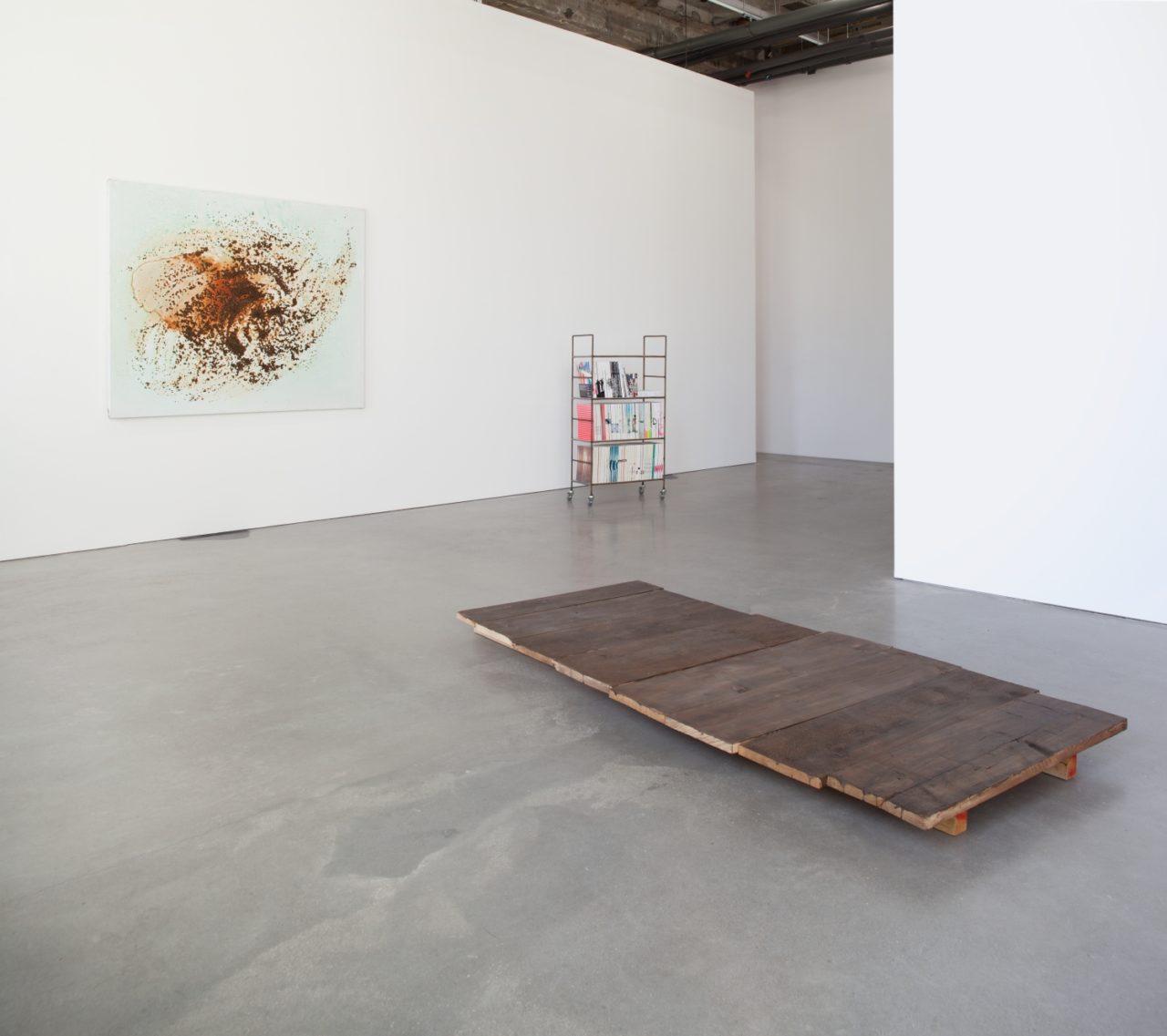 Herold, Haugaard Madsen, West, Zobernig, Installation view