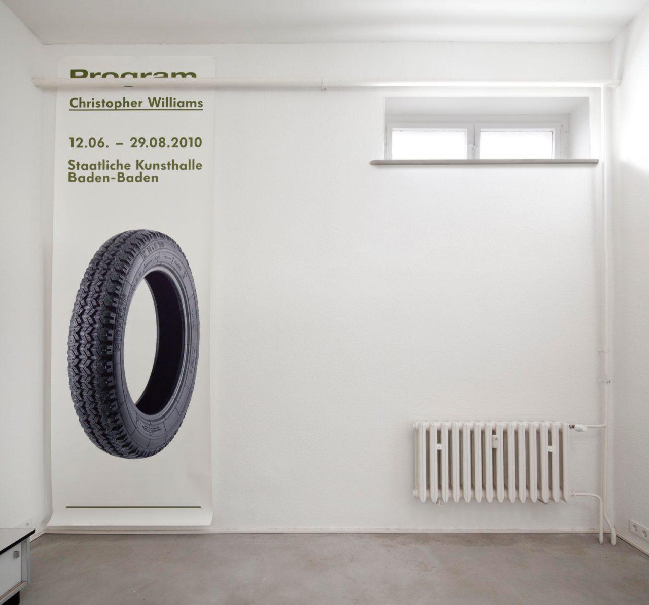 Christopher Williams, untitled (Staatliche Kunsthalle Baden-Baden) (2010)