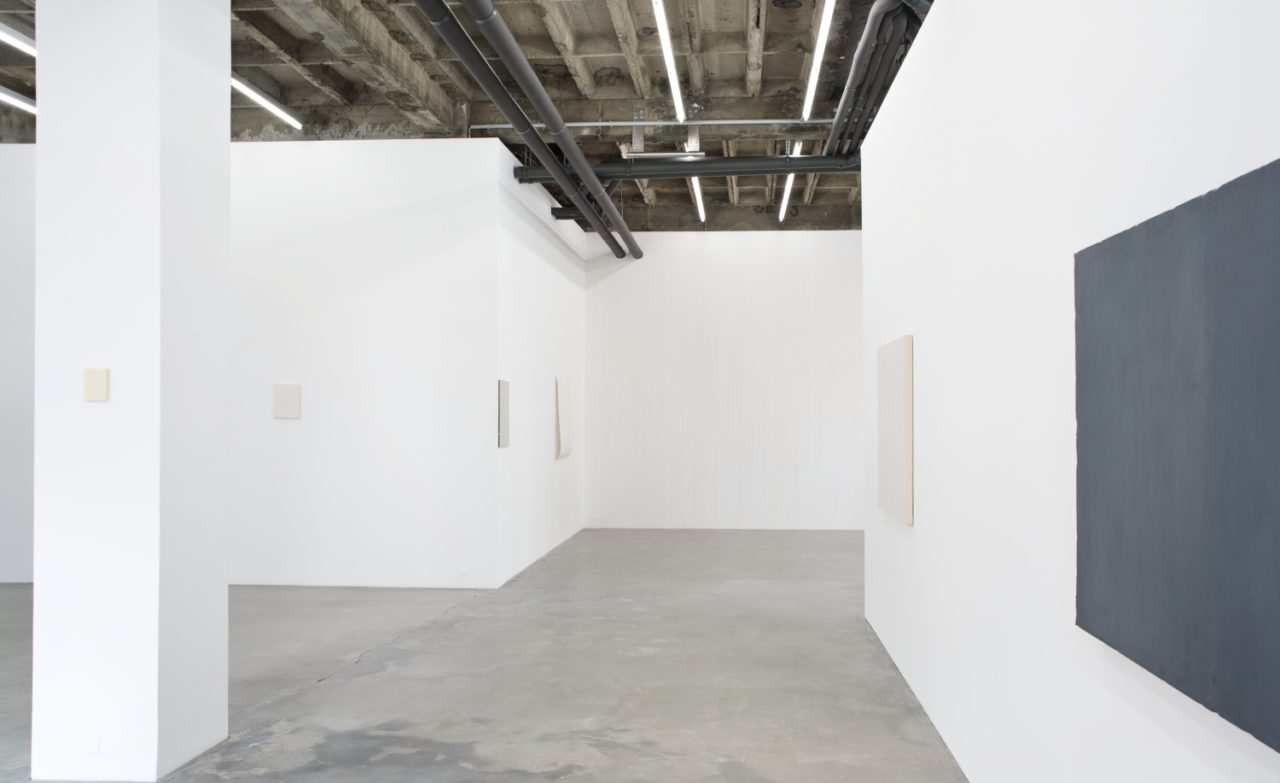 Monochrome reflections, Installation view