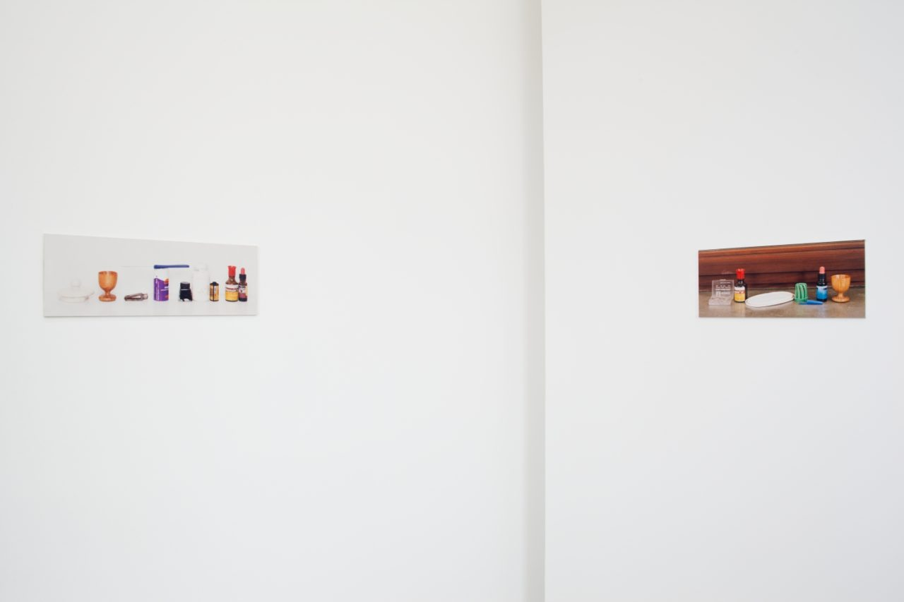Left: Christopher Muller, Cut in Two (1994); Right: Christopher Muller, Regrets (1994)