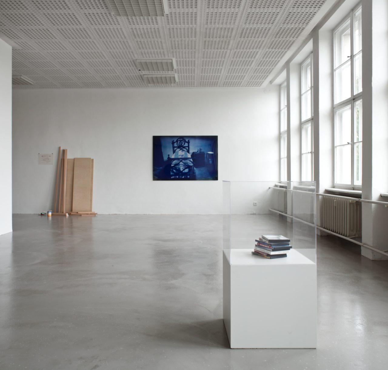 Between Frames, Installation view