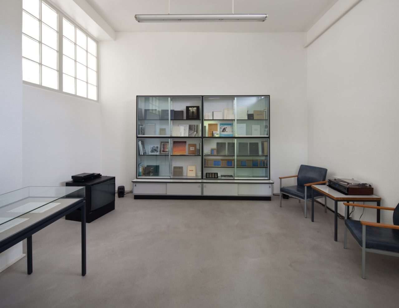 Collected attitudes, Installation view