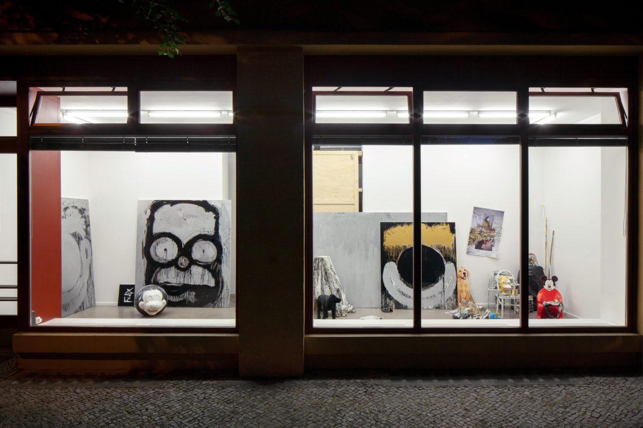 Joyce Pensato, Installationsansicht