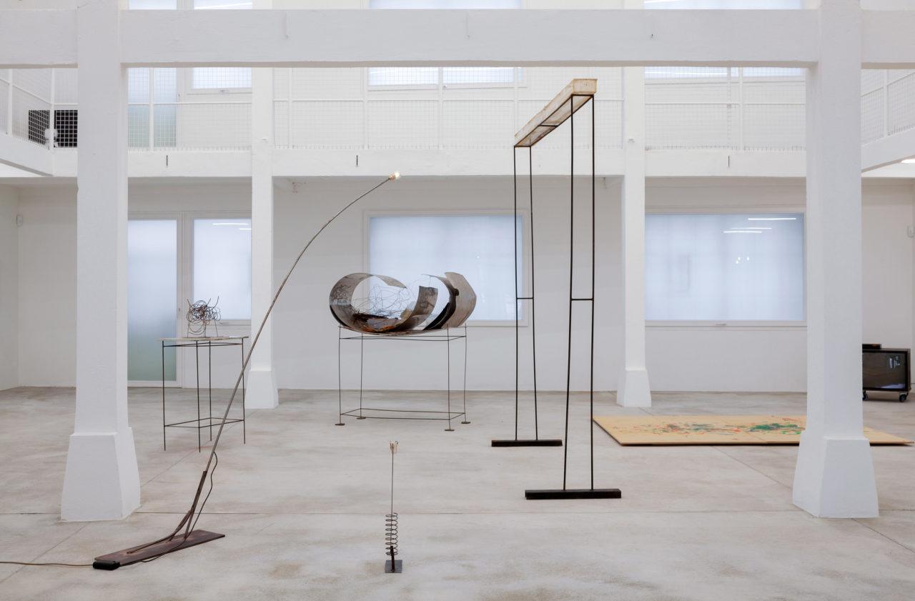 Rudolf Polanszky beleuchtet von F. West, Installationsansicht