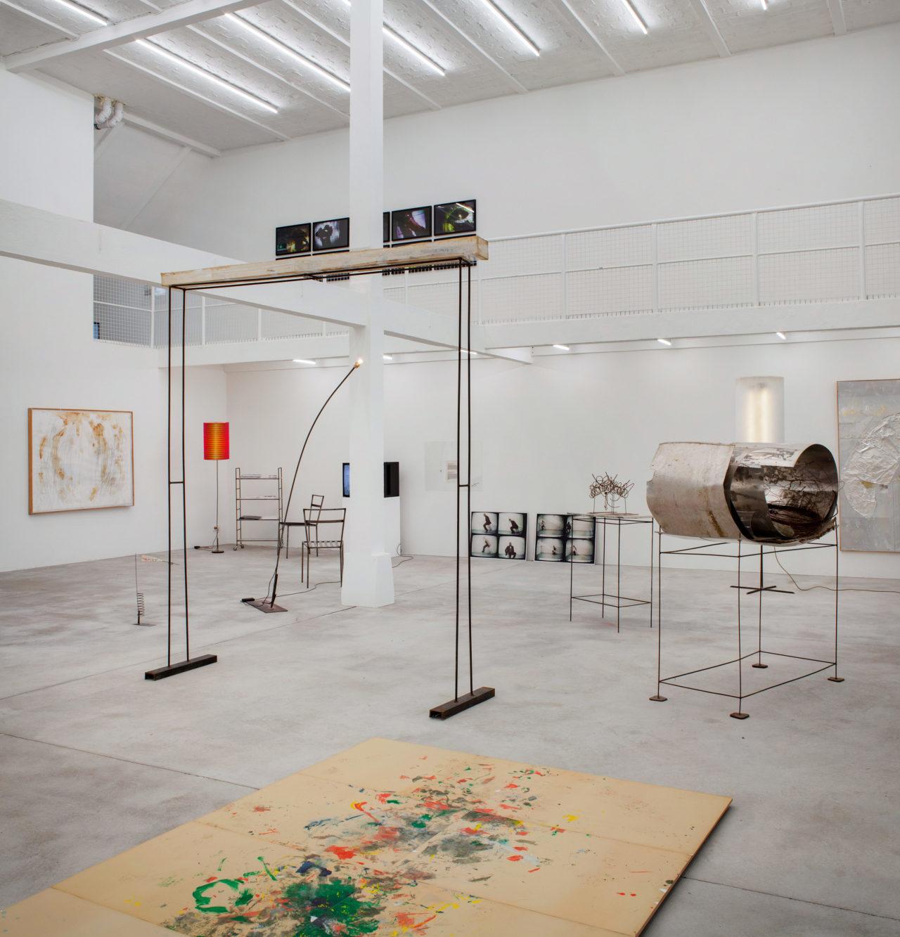 Rudolf Polanszky beleuchtet von F. West, Installation view