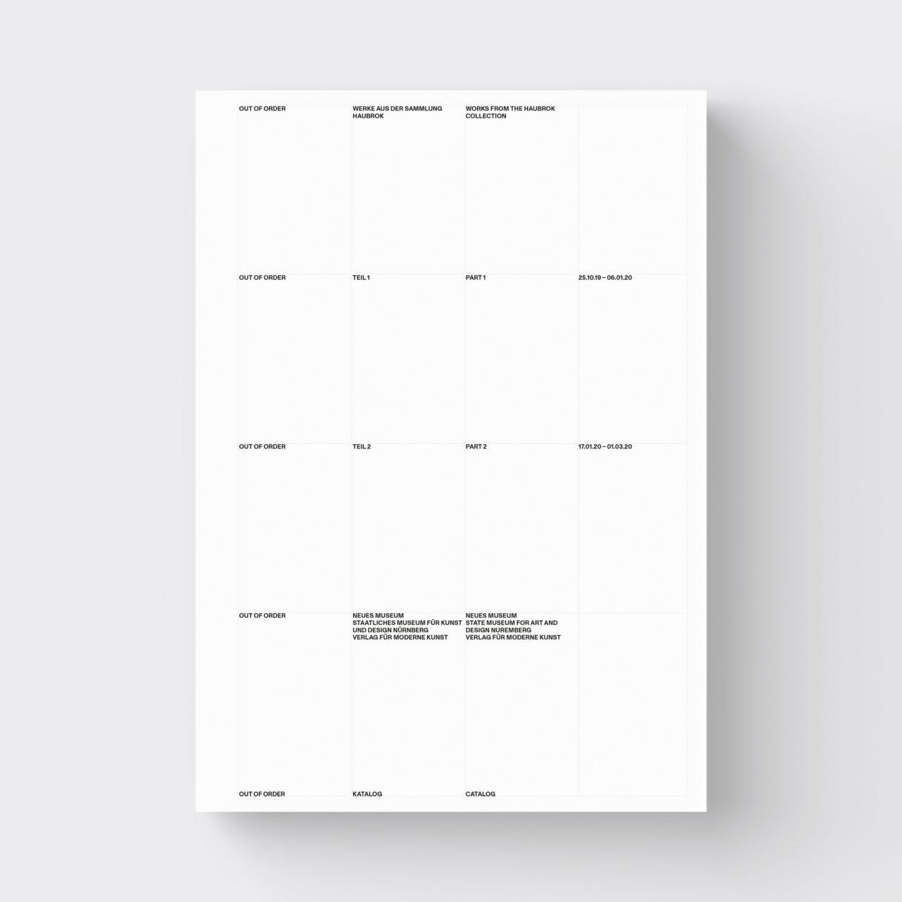 Out of Order, vfmk Verlag für Moderne Kunst (2020)
