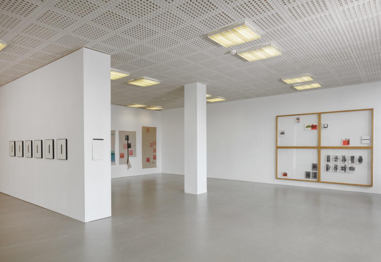 Wade Guyton, Installationsansicht