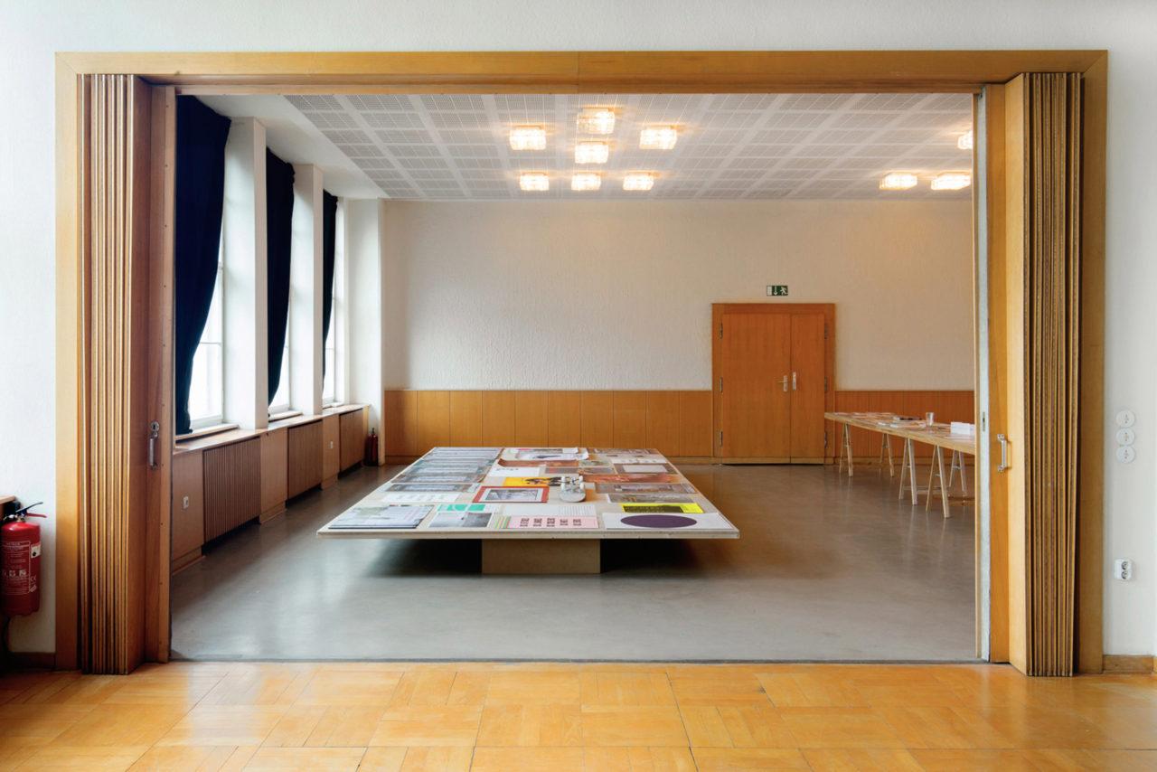 Jonathan Monk, Installation view