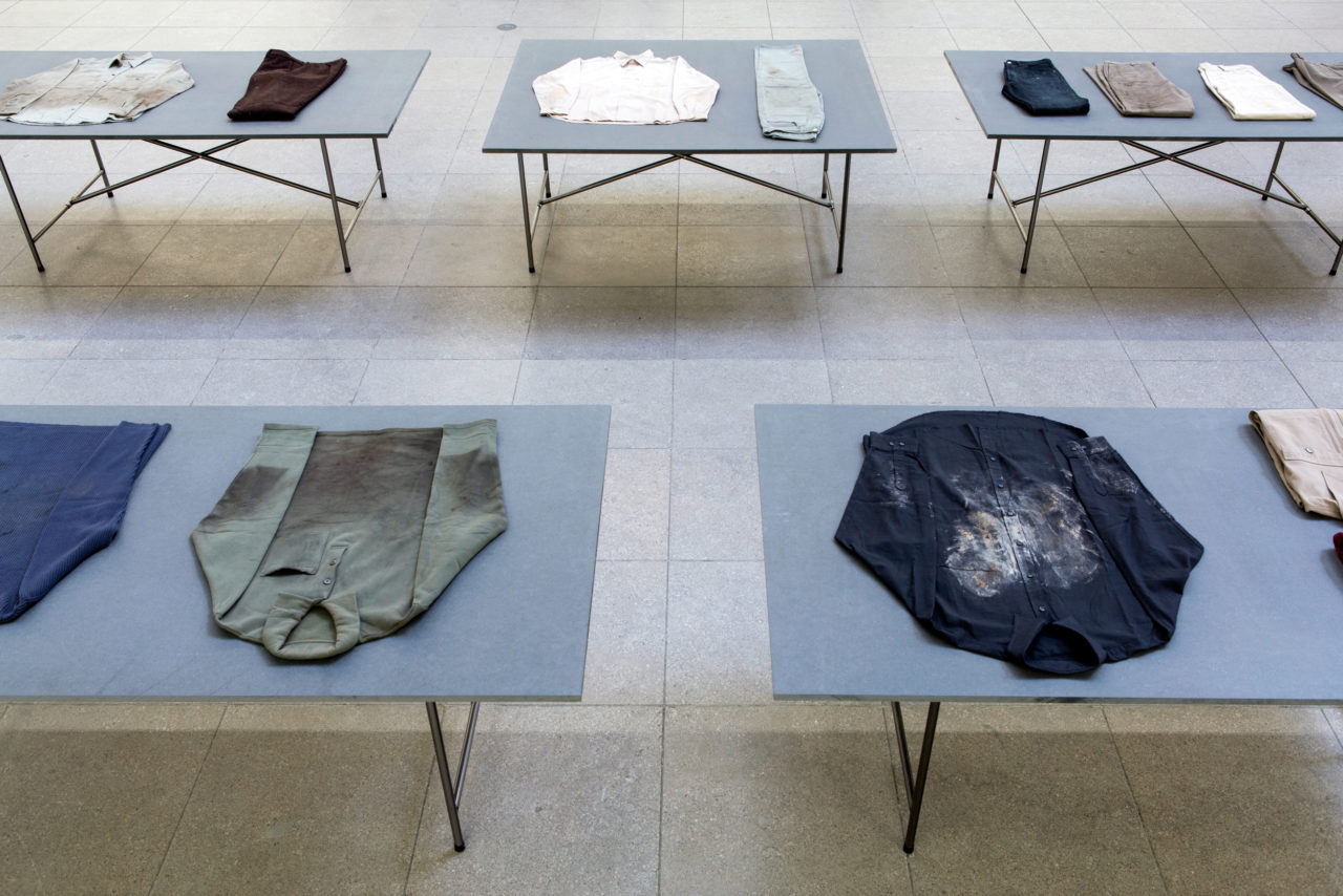 Bojan Šarčević, Workers' favourite clothes worn while s/he worked (1999/2000) (detail)