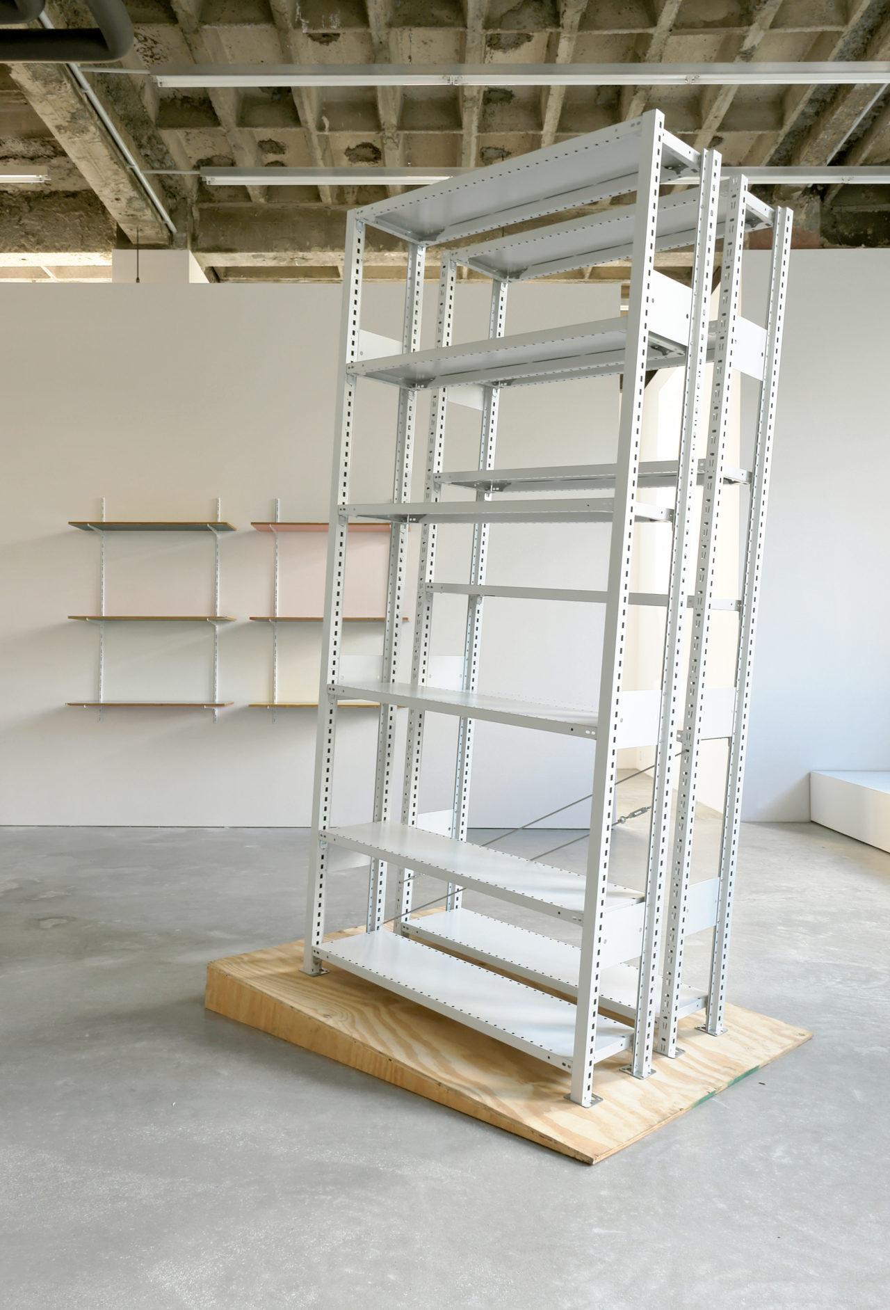 Haegue Yang: Unpacking storage piece, Installationsansicht