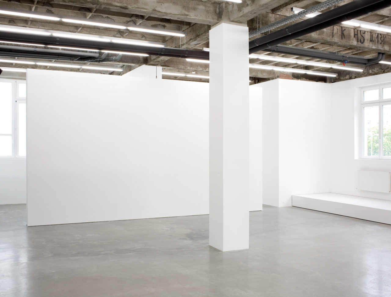 less, Installation view
