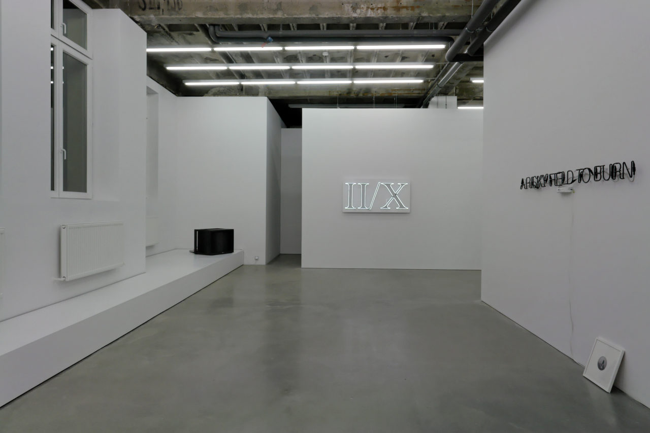 Lights (on/off), Installation view