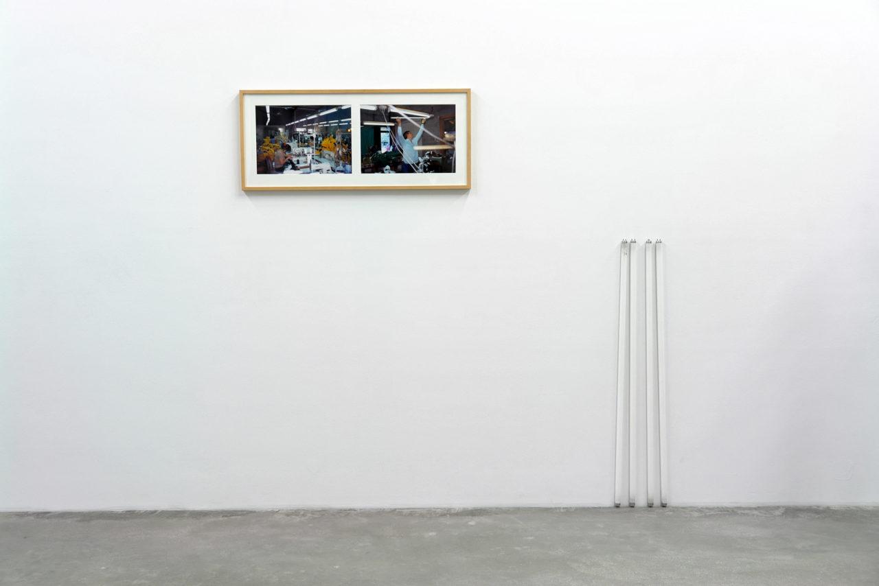 Jens Haaning, Light bulb exchange (2001)