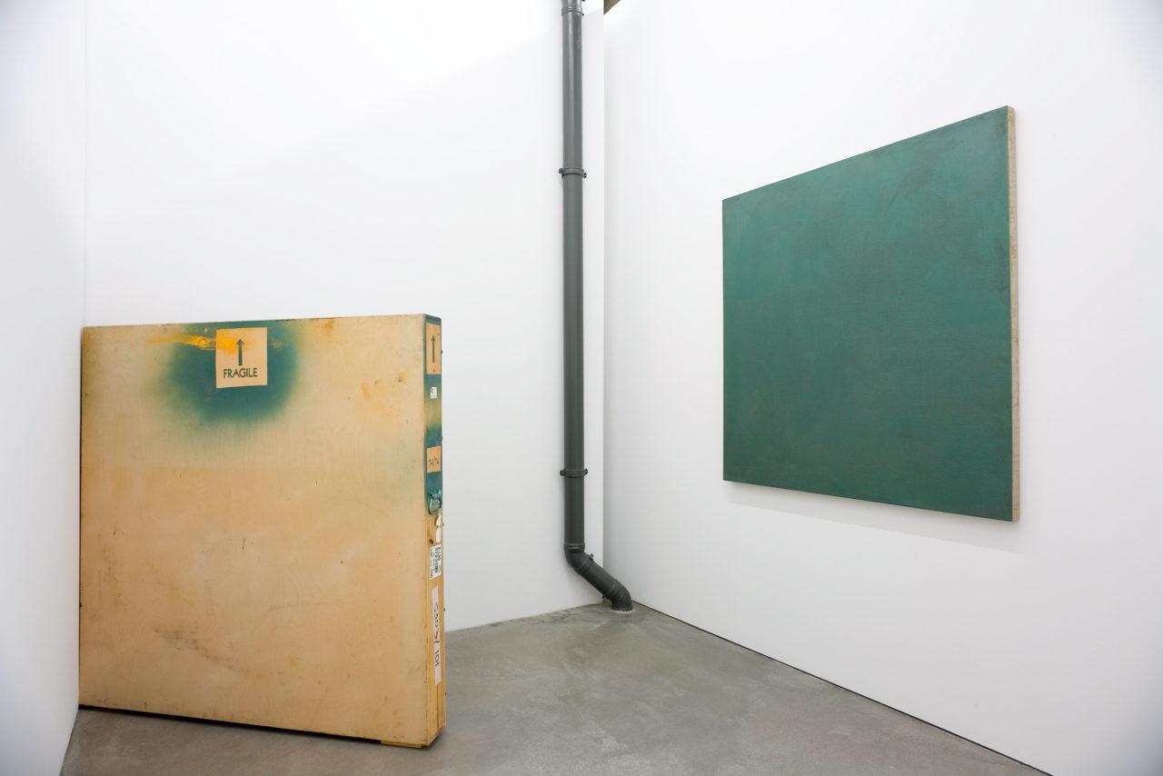 Stephen Prina, Monochrome Painting: A Posteriori Prototype: Average Size (1994)