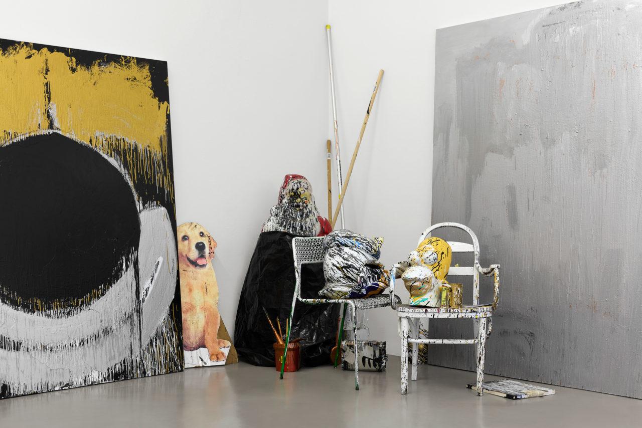 Joyce Pensato, Big Ang Takeover (2018), Weserburg Museum für moderne Kunst