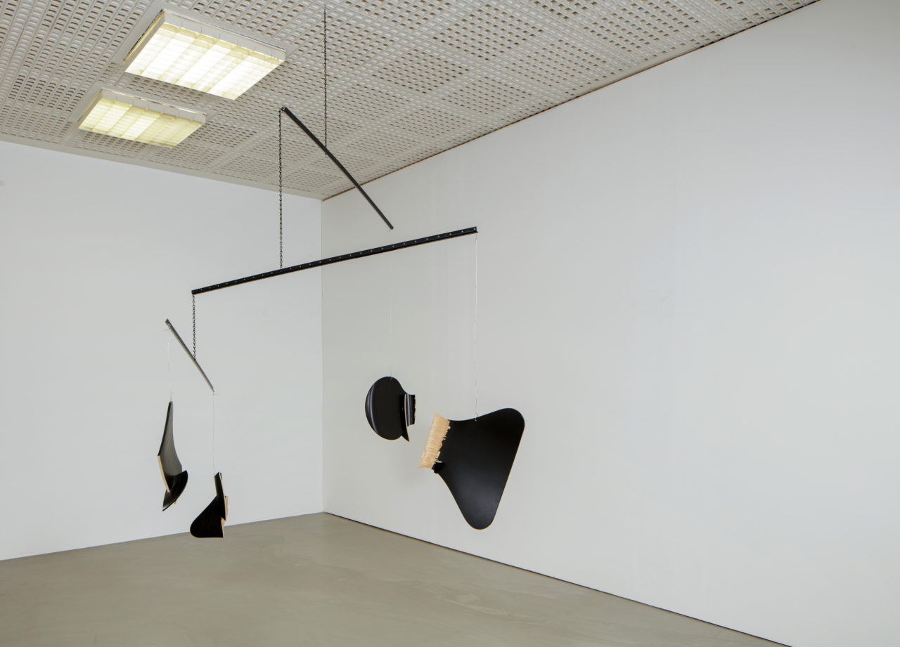 Martin Boyce, Mobile (for 1056 endless heights) (2002)