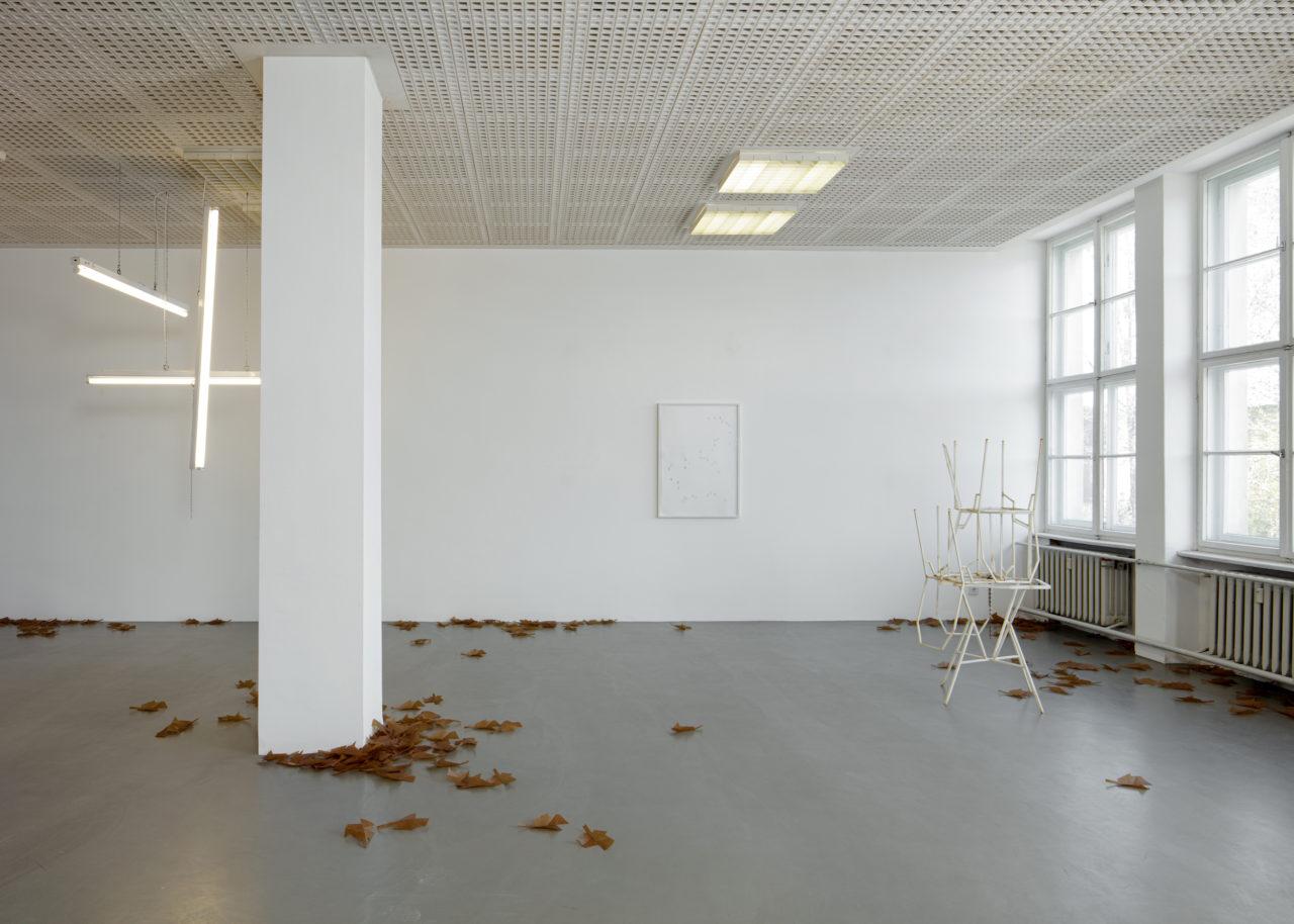 Martin Boyce: Recurring Dreams, Installationsansicht