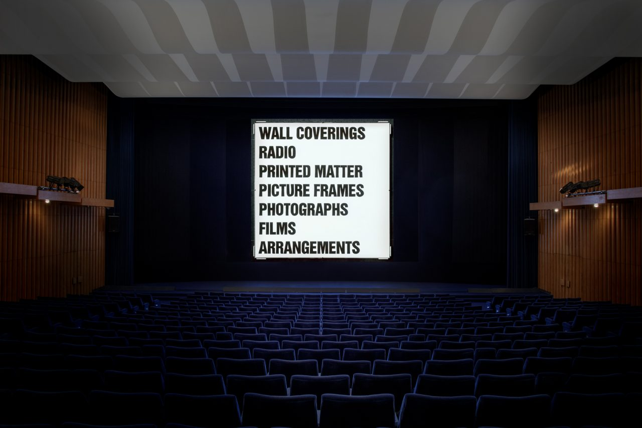 Christopher Williams: Provisional Prop, Kino International