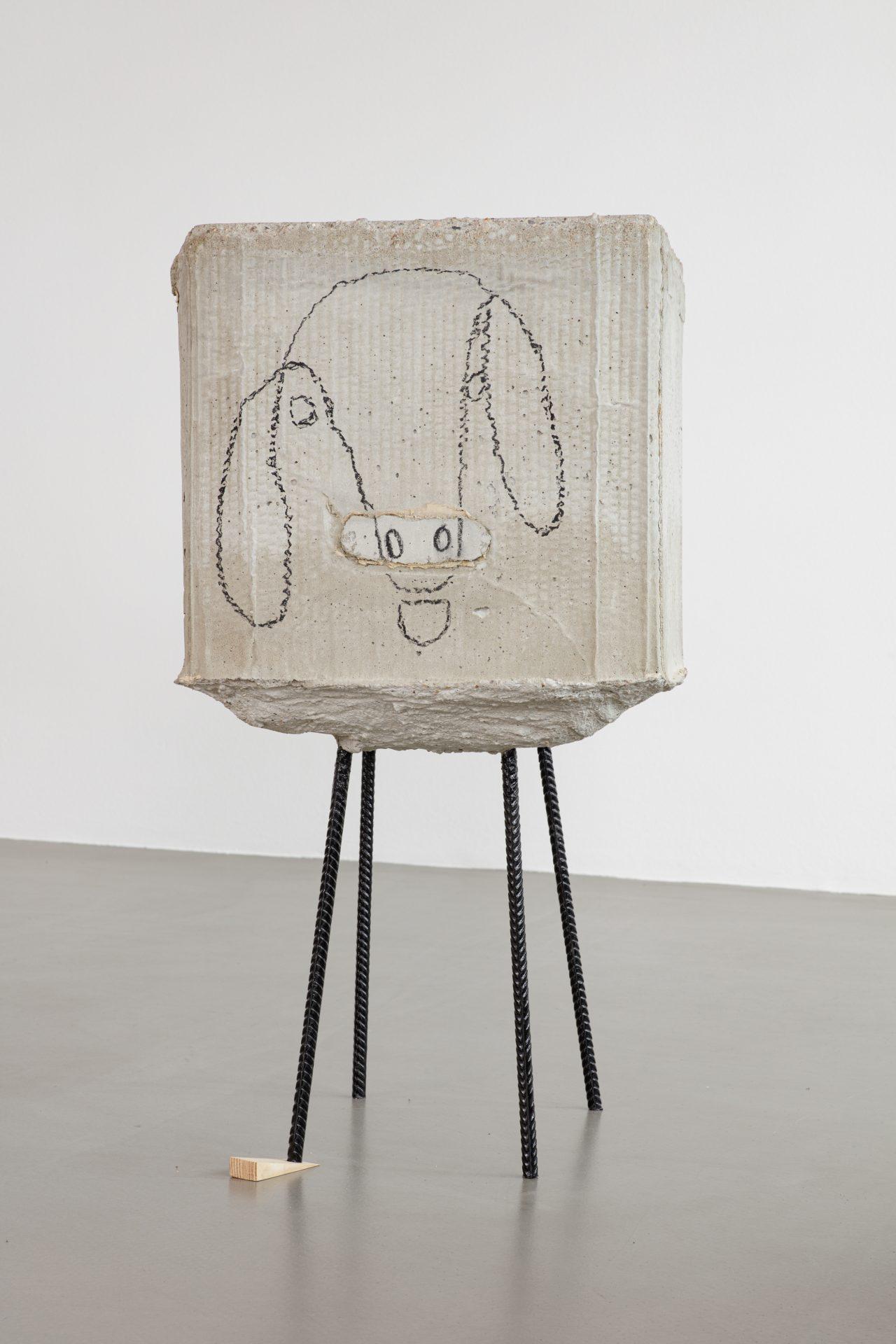 Judith Hopf, untitled (Schaf) (2013)
